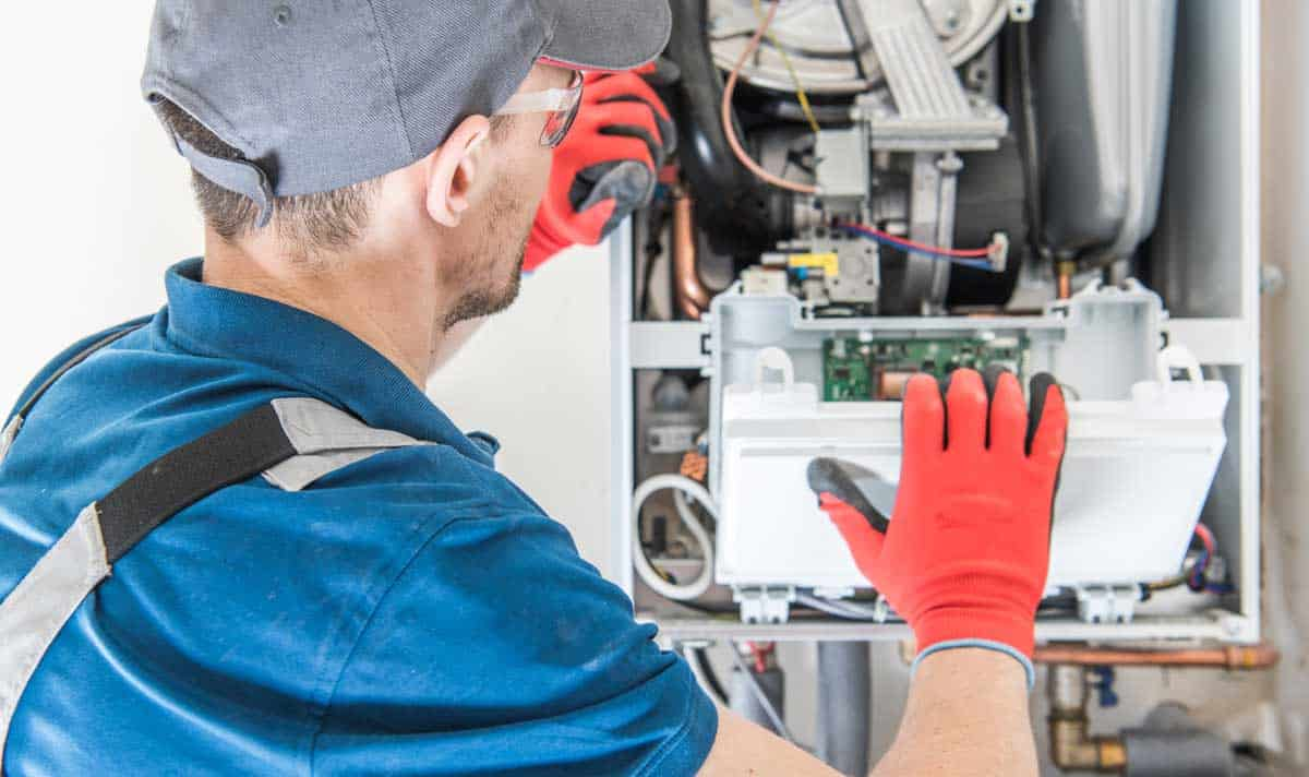heating system repair technician
